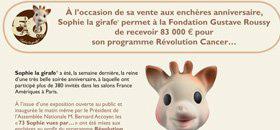 Sophie la girafe® Auctions